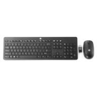 HP Business SLIM vezeték nélküli billentyűzet + egér HU - fekete (N3R88AA)