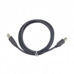 Gembird USB 2.0 printerkábel 1.8M (CCP-USB2-AMBM-6G) szürke