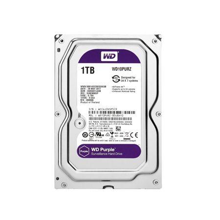 WESTERN DIGITAL Purple 1TB 5400rpm SATA3 64MB WD10PURZ