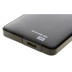 "WESTERN DIGITAL 1.0TB Elements 2,5"" USB 3.0 külső HDD - fekete"