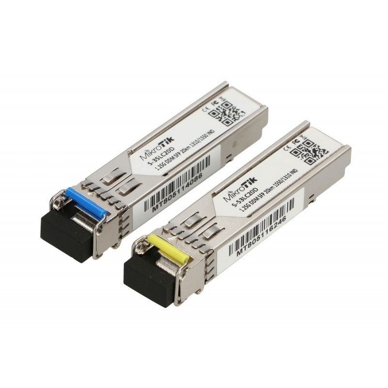 MIKROTIK 1.25G SX-LC duplex multimode optical transceiver SFP modul