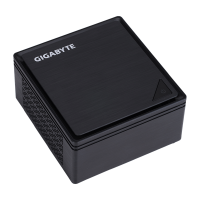 Gigabyte GB-BPCE-3350C Brix Intel Barebone mini asztali PC (GB-BPCE-3350C)