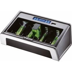 VARTA univerzális akkumulátor töltő - LCD (AA/AAA/C/D/9V)