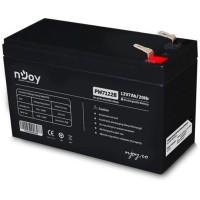 NJOY PW7122B 12V/7Ah gondozásmentes akkumulátor