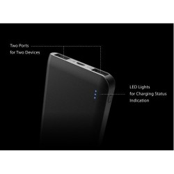 SILICON POWER S200 Power Bank 20000mAh fekete