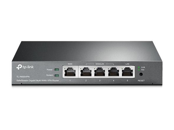 TP-LINK TL-R600VPN vezetékes gigabit VPN router