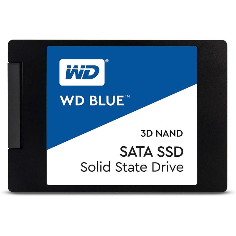 """WD Blue WDS100T2B0A 3D series SSD, 1TB, 2.5"""", SATA III"""