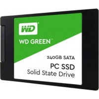 "WESTERN DIGITAL 240GB Green 2.5"" SATA3 SSD"