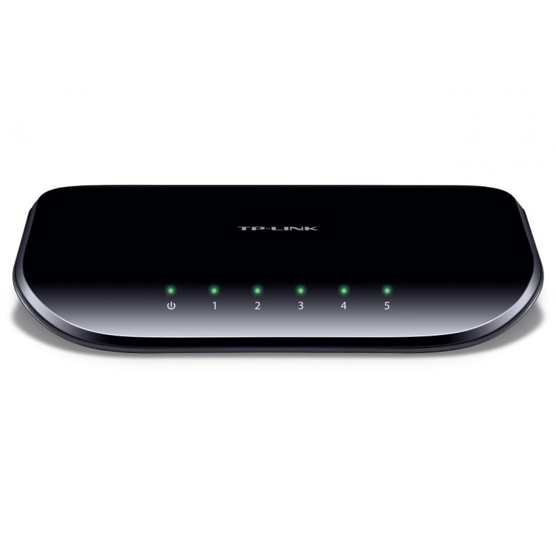 TP-LINK TL-SG1005D asztali switch 5 port 1000Mbps