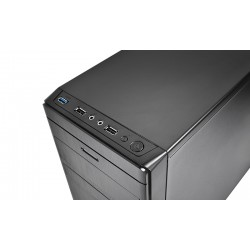 DEEPCOOL WAVE V2 számítógépház - fekete