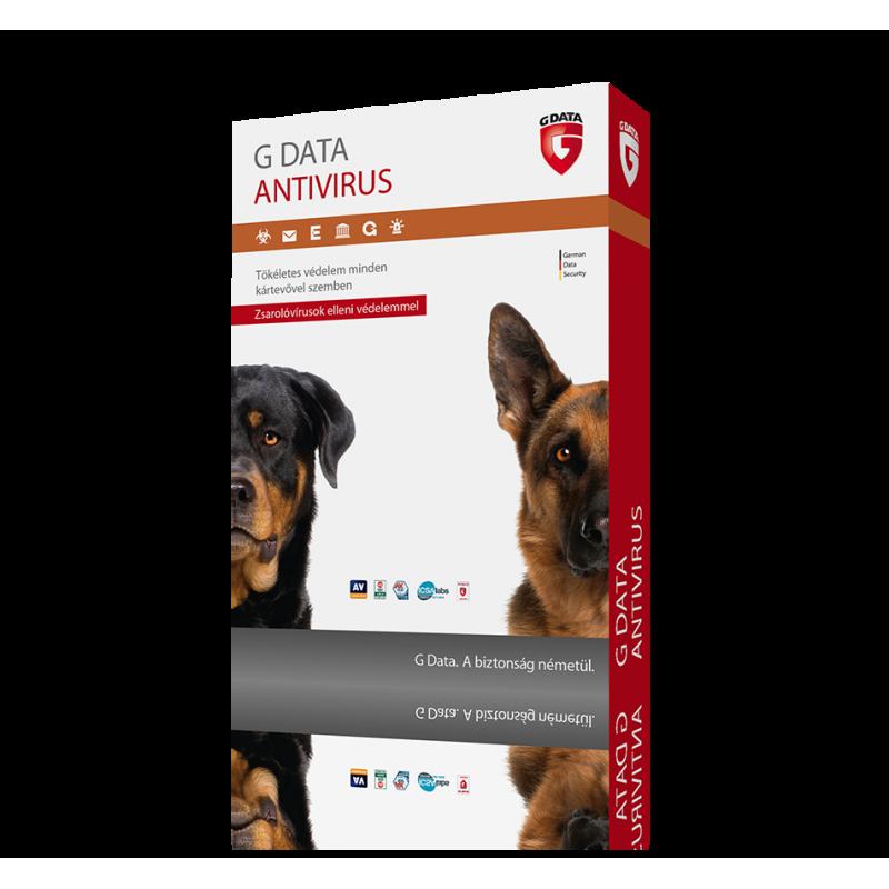 G DATA Antivirus (1 eszköz / 1 év)